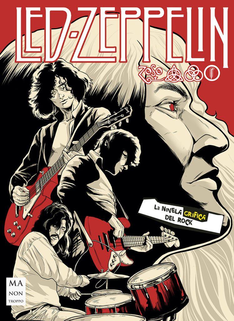 LED ZEPPELIN (Novela gráfica del Rock)